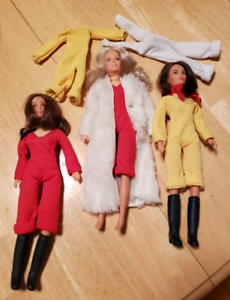 Vintage Charlie's Angel's Action Figures, Hasbro 1970's