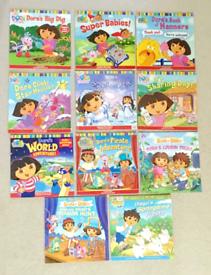 Children's Books - Dora The Explorer and Diego Books x 11