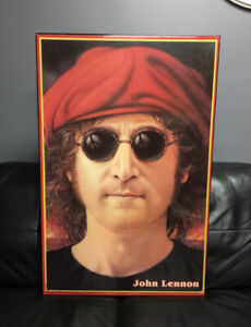 Early 1970's John Lennon/Beatles Art Piece *One in Existence*