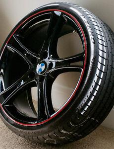 "BMW FACTORY 20"" OEM WHEELS & PIRELLI RUNFLATS"