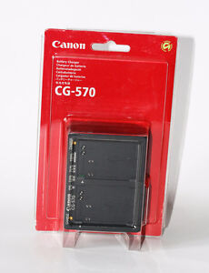 NEW Genuine Canon CG-570 charger 5D etc ...