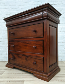 Mahogany Chest Of Three Drawers (DELIVERY AVAILABLE)