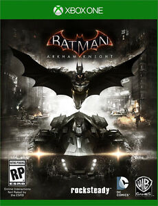 BATMAN ARKHAM KNIGHT XBOX ONE NEUF