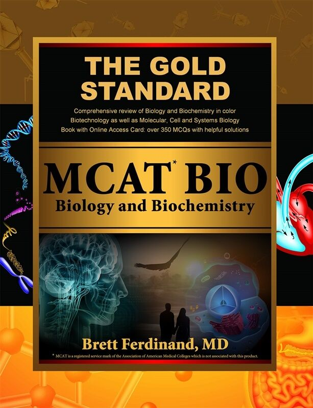 Details about MCAT Biology and Biochemistry Review: Created for the new  MCAT by Gold Standard