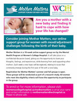Mother Matters - Online Mom Support Group