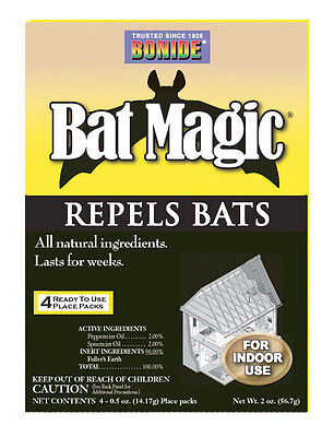 Bat Magic - Bonide  Bat Magic  For Bats Animal Repellent  Granules  2 oz.