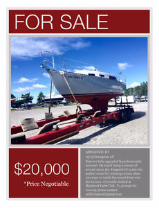 Professionally Upgraded & Restored 26' Sailboat For Sale!