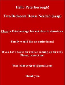 Muture Father/ son looking for Complete house to rent near town