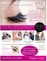 EYELASH EXTENSION COURSE - $349 classic or $699 Master Class