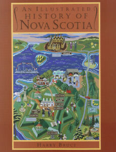Illustrated History Of Nova Scotia-Nimbus book + bonus books
