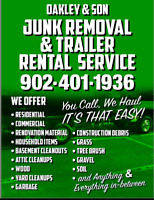 #Supportlocal Oakley & Son Junk Removal & Trailer Rentals