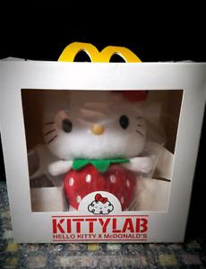Hello Kitty 2009 HK Collectible Mcdonalds plush