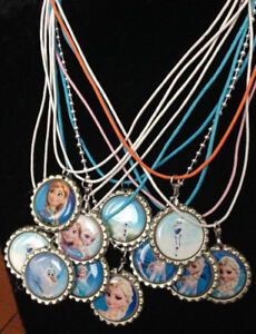 Lot of FROZEN handmade Necklaces - Party Gifts