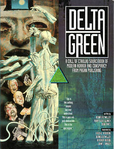 DELTA GREEN Call of CTHULHU Sourcebook of Modern Horror and Cons