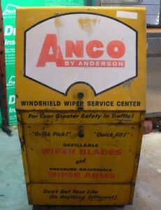 ANCO Windshield Wiper Service Station Display Cabinet