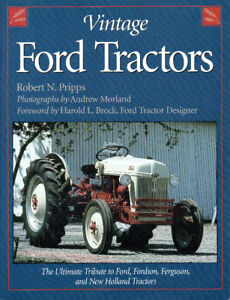 VINTAGE FORD TRACTORS – Fordson, Ferguson & New Holland Tractors