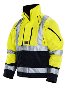 high visibility winter coat