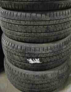 4 good used tires 22 inch=285=45=22===70-75% Tread Remaining