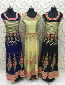 Indian/Pakistani Party gown, Floor Touch, Plazzoo, Sarara suits