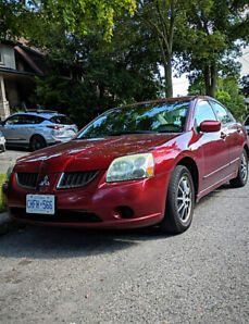 2004 Mitsubishi Galant from first owner at a bargain price