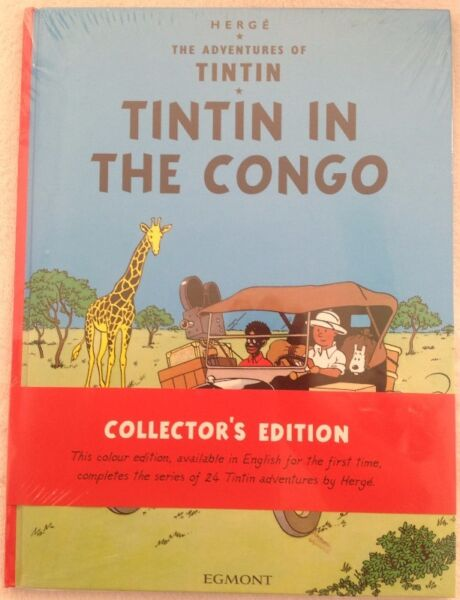 The Adventures of Tintin - Tintin in the Congo - Hardcover - Collector's Edition