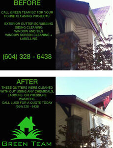 Window Cleaning & Gutter Scrubbing (No Chemicals) North Shore Greater Vancouver Area image 4