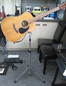 Pied pour guitare accoustique