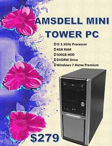 SPRING DESKTOP SALE - Amsdell Mini Tower Only $279!