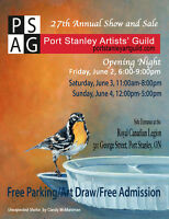 Port Stanley Art Guild 27th Annual Show and Sale