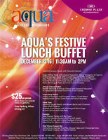 Aqua's Festive Lunch Buffet