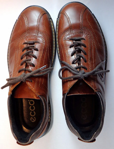 ECCO Light Shock Point Leather Oxfords - Size 42 or 8 - 8.5