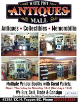 Shuswap Area Attraction:  Auto Museum & Antiques Mall
