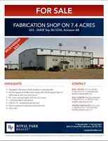 Fabrication Shop on 7.4 Acres for Sale