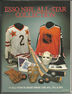 Esso NHL All-Star Collection Album and Stickers