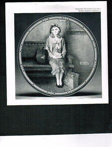 """COLLECTOR PLATE -- """"A YOUNG GIRLS DREAM"""" Kitchener / Waterloo Kitchener Area image 1"""