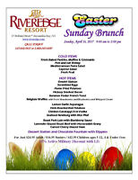 Easter Brunch @ the Riveredge Resort