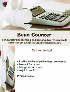 For all your personal tax & bookkeeping needs London Ontario image 1
