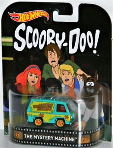 Hot Wheels Retro 1/64 Scooby Doo Mystery Machine Diecast Car