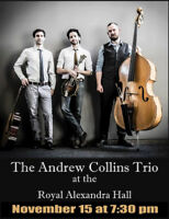 Andrew Collins Trio- Bluegrass Masters @ Royal Alexandra Hall