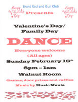 Family Day Valentines Dance
