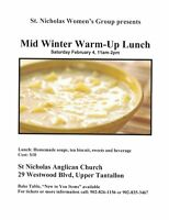 St. Nicholas Westwood Hills Mid-Winter Warm-Up Lunch and Sale