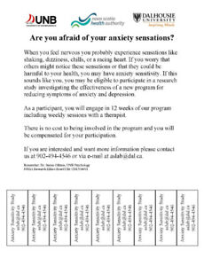 Are you afraid of your anxiety sensations?