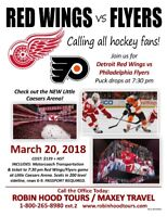 Red Wings vs. Flyers