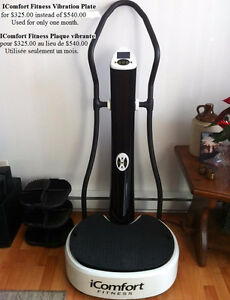 iComfort Fitness Vibration plate - excercise