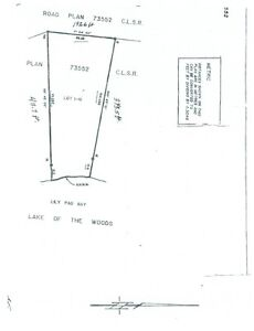 Lake Of The Woods - Lot For Sale! 1-41 Lily Pad Bay