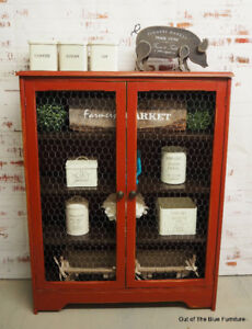Rustic farmhouse hutch/pantry