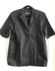Brand New Thyme Maternity Collection Black Blazer, Size XL