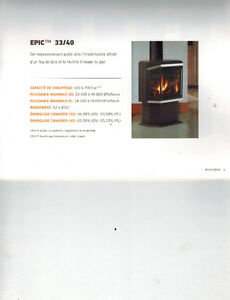 Special Offer - EPIC 33/40 Gas Stove