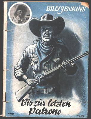 Billy Jenkins Nr. 155 Geheimagent Skotch. Erschienen 1955