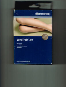 NEW COMPRESSION PANTY STOCKINGS BY BAUERFEIND SIZE  SMALL